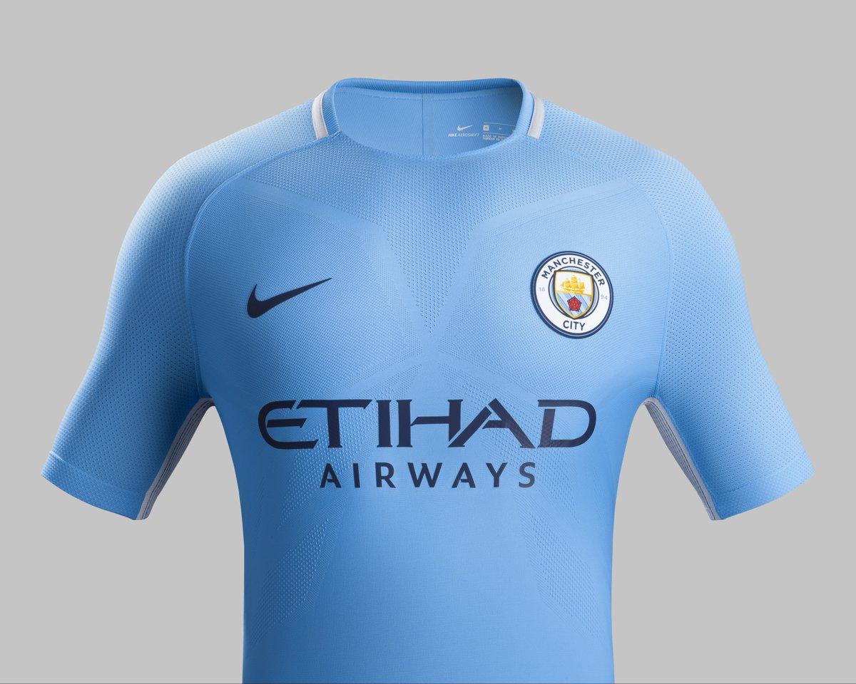 3d25f08f30cf4 Nova camisa do Manchester City para a próxima temporada (Divulgação  Manchester  City)