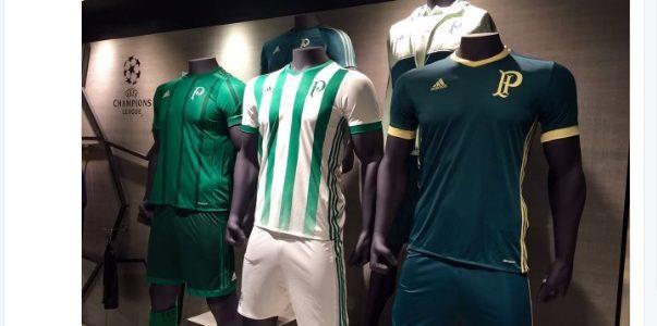7d65eb6923 Novas camisas do Palmeiras já estariam à venda na Inglaterra. Veja como são  - 20 05 2001 - UOL Esporte
