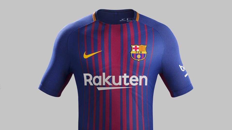 7fde795cda Dois dias depois de encerrar a temporada com a conquista da Copa do Rei, o  Barcelona apresentou nesta segunda-feira o uniforme que utilizará a partir  de ...