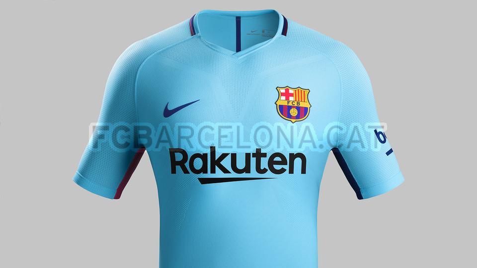 bed75f1568 Barcelona lança uniforme dois para a temporada 2017 2018 - 20 06 ...