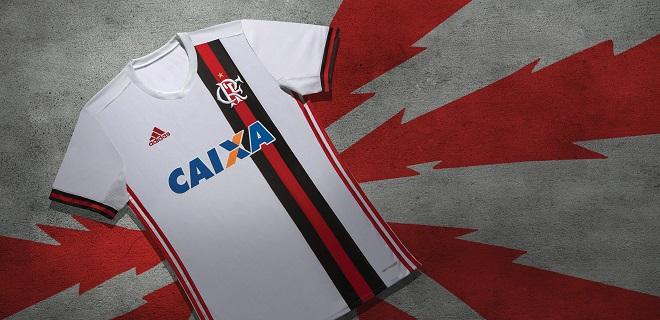 Flamengo lança camisa branca e vai pedir para torcedores darem nome ... 93fa09ce371cd