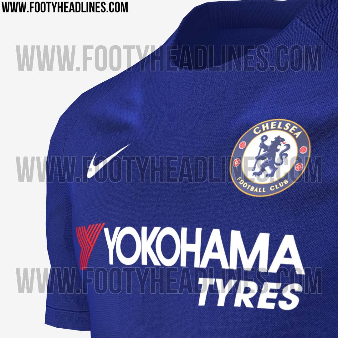 bd351d7f3a Site vaza primeiro uniforme do Chelsea com novo fornecedor - 20 06 ...