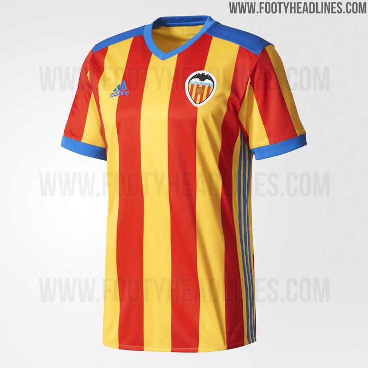 625c5ec3b2 A peça – possivelmente o segundo uniforme a – terá listras verticais em  vermelho e amarelo