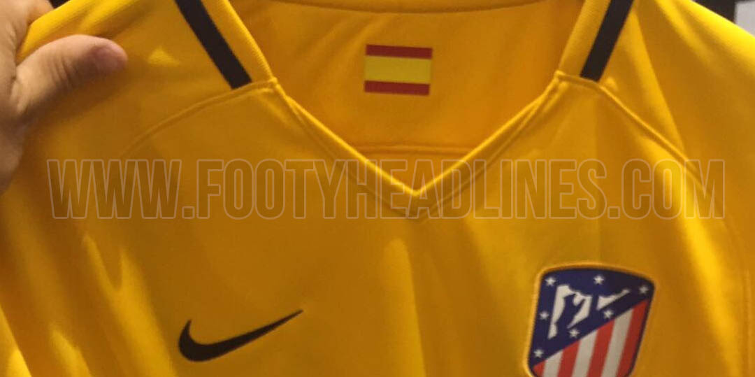 f966fc8962 Suposta nova camisa reserva do Atlético de Madri (Reprodução Footy Headlines )