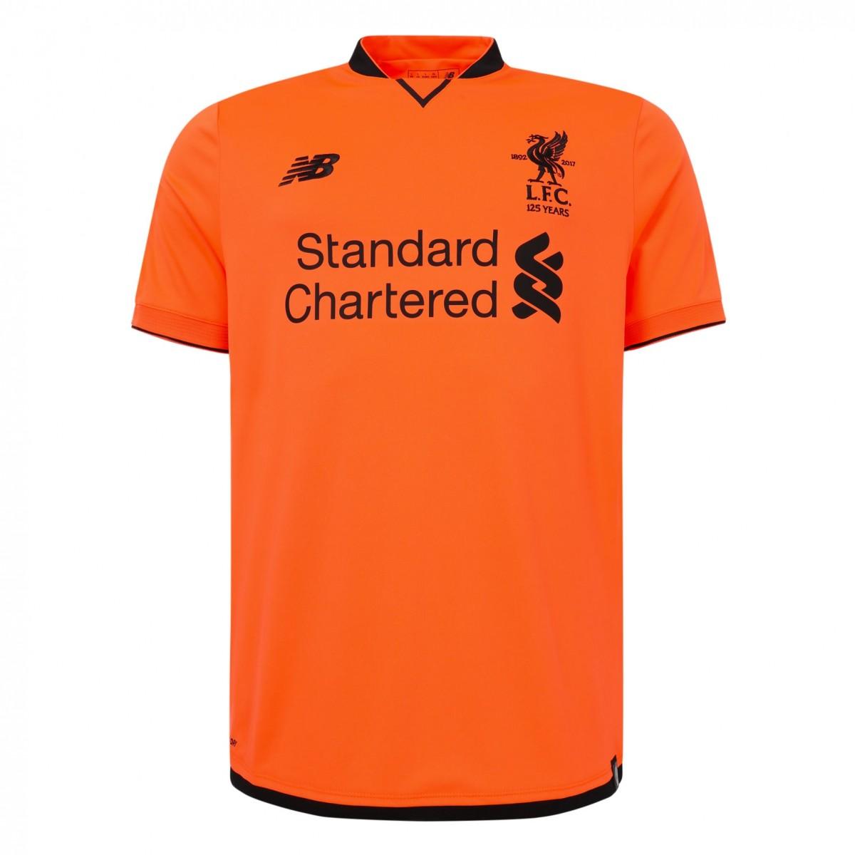 Liverpool lança terceira camisa com a cor laranja - 20 07 2017 - UOL ... e15ab36c90092