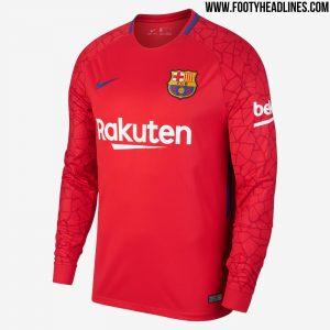 5f7b8c94d4 Camisa de goleiro 1 do Barcelona - 2017/18 - UOL Esporte