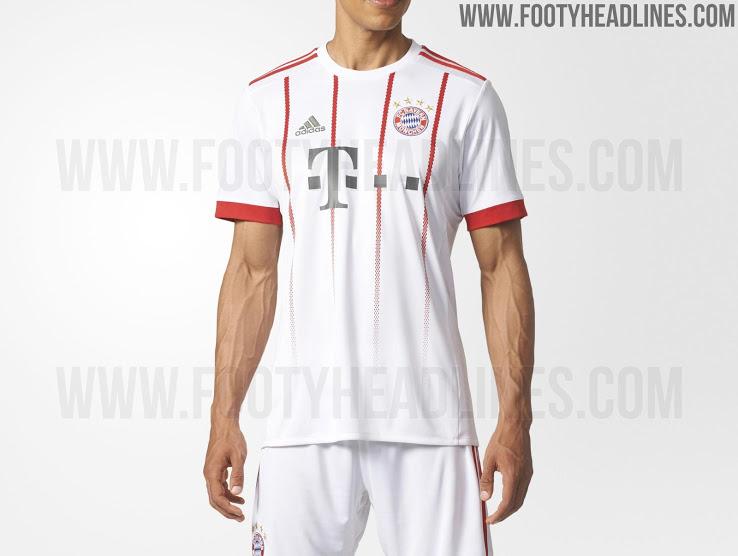 O site Footy Headlines divulgou imagens do provável terceiro uniforme que o  Bayern de Munique utiizará na temporada 2017 2018. ce350dae7055d