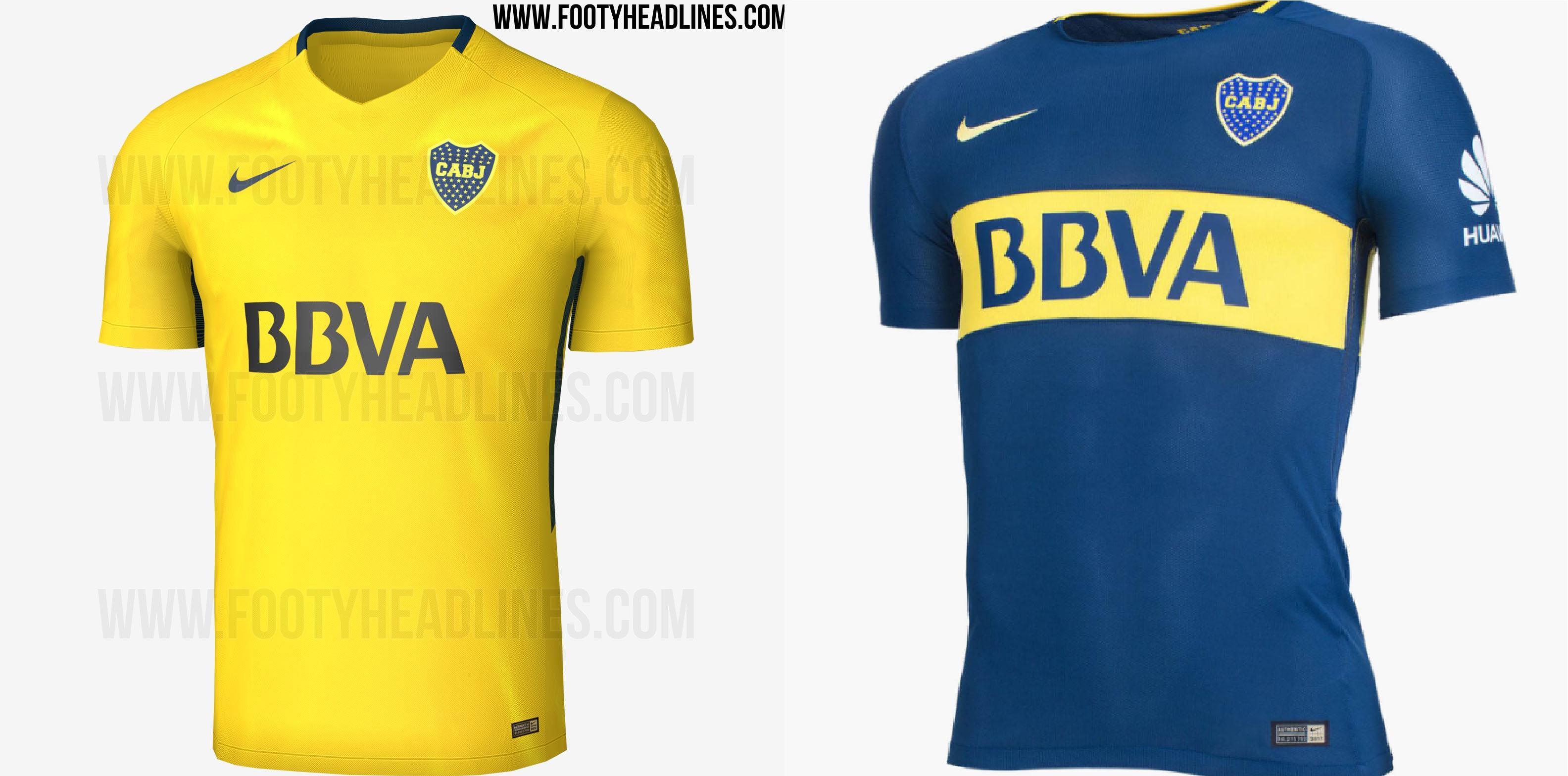 O site Footy Headlines vazou nesta sexta-feira (21) os novos uniformes do  Boca Juniors f7323b81dd98f