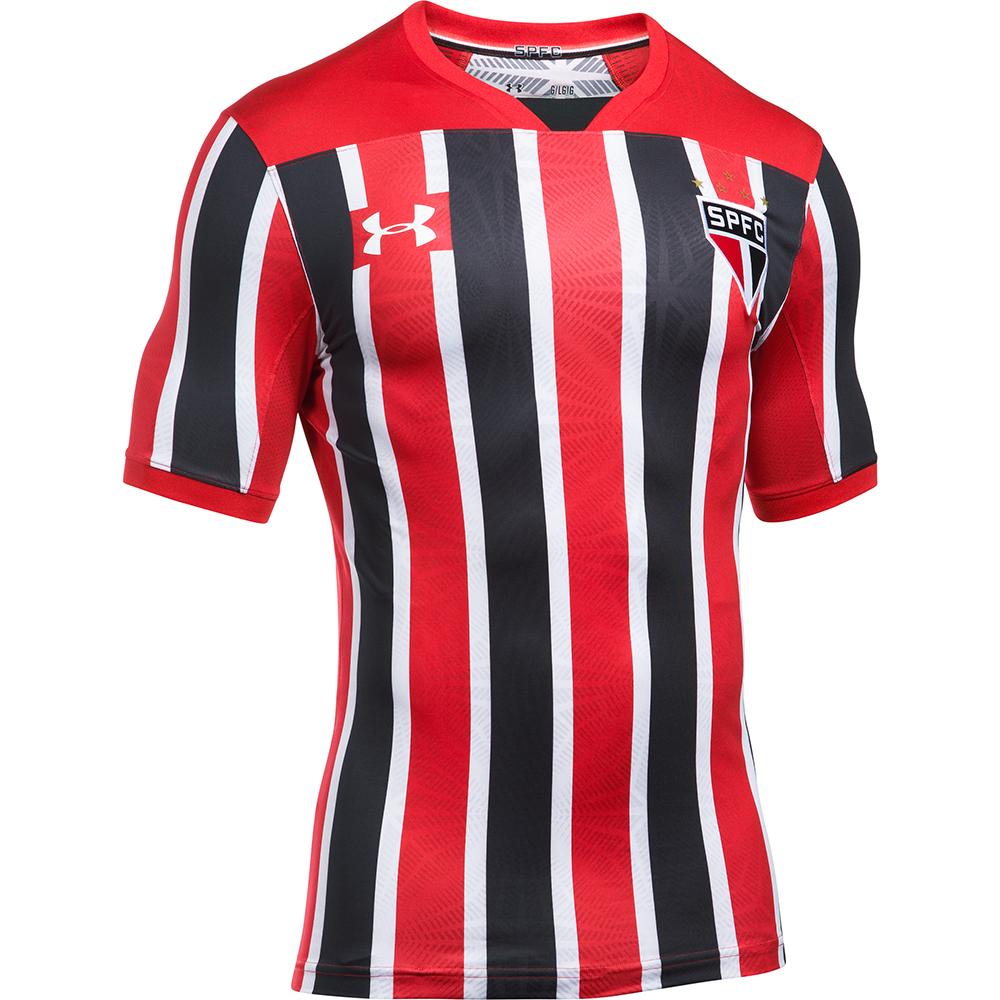 d3c282d5c7 São Paulo lança camisa 2 no clássico contra Santos neste domingo  veja fotos