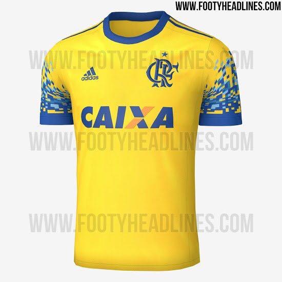 9ec29be2d8 Site vaza 3ª camisa do Flamengo  estreia será contra o Coritiba - 20 ...