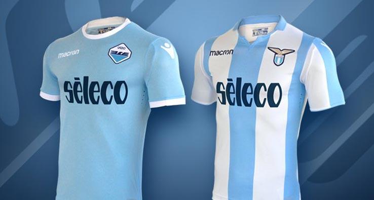 Lazio lança uniformes com referência a campanha histórica na Liga ... 7e6eb10422ca3