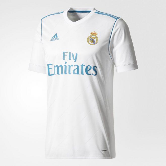 Camisa 1 do Real Madrid - 2017 18 - 20 07 2021 - UOL Esporte 49e56919460b7