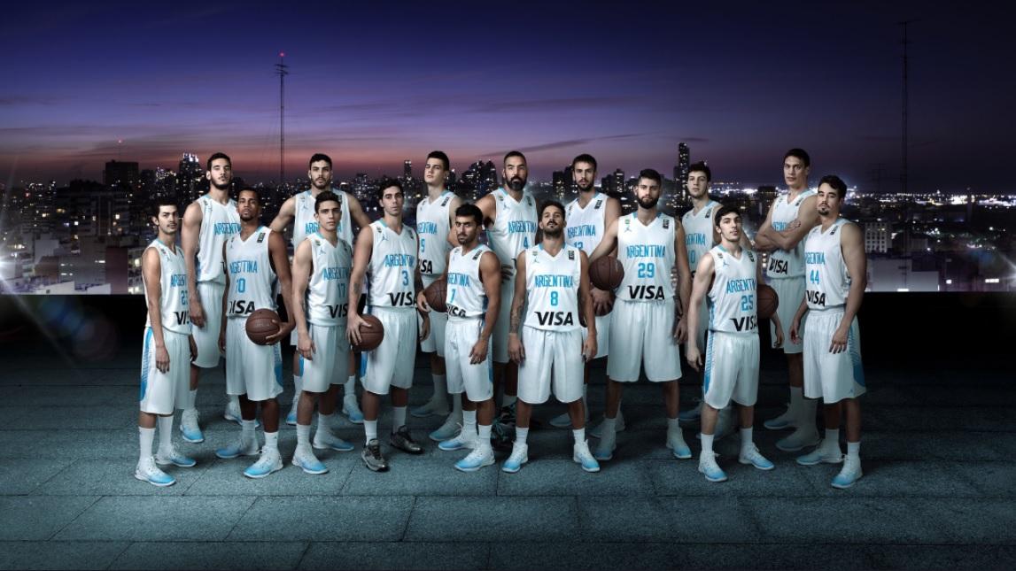 0fdb59205d Seleção argentina de basquete lança uniformes da marca de Michael Jordan