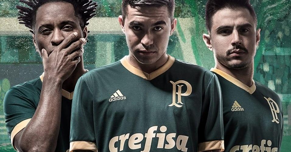 Camisa do Palmeiras é a 2ª mais bonita do mundo na temporada a2f7100bc8787