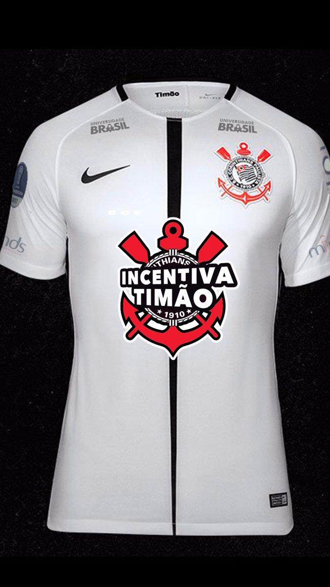 d9b746af7a Corinthians terá logotipo  Incentiva Timão  em uniforme para jogo ...