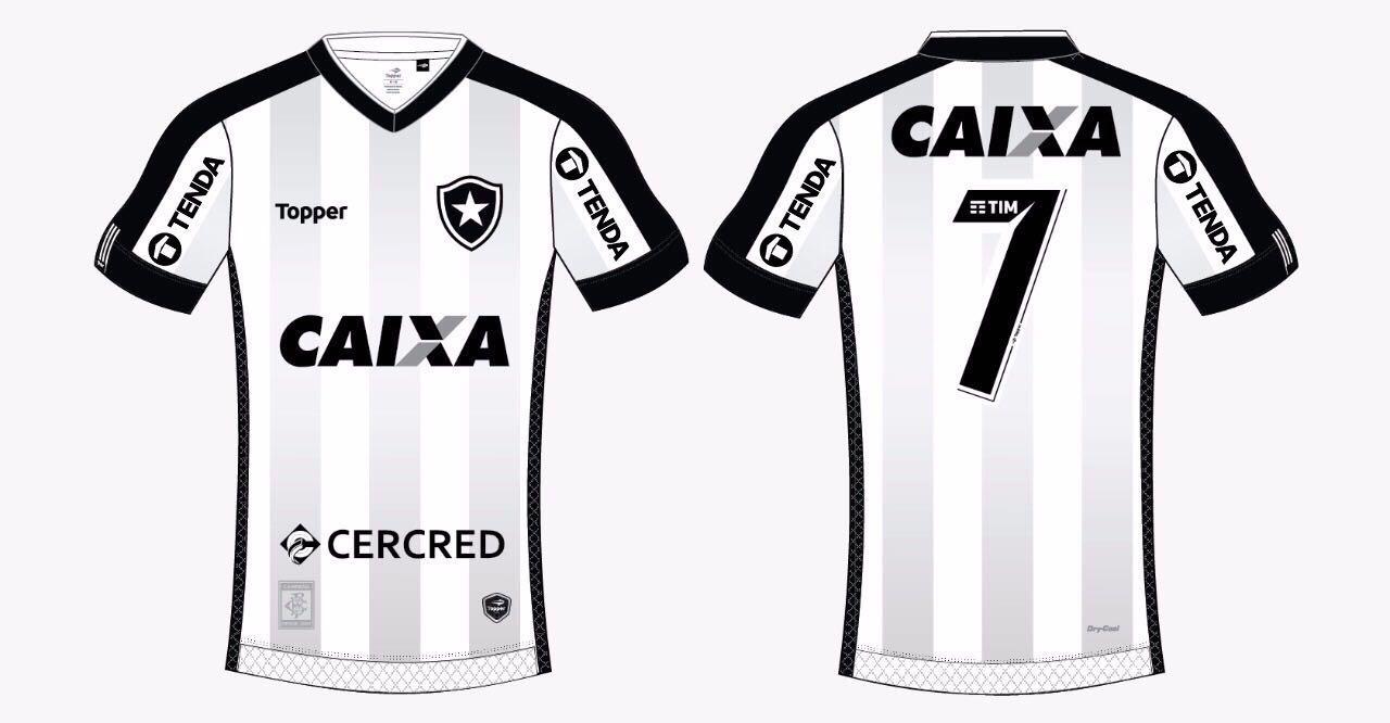 ca432d9e43 Botafogo terá patrocínio pontual para o jogo desta quarta-feira ...