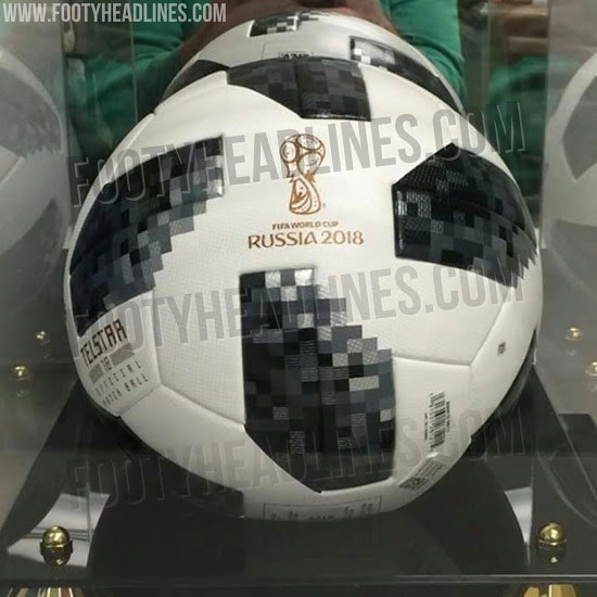 A bola da Copa do Mundo de 2018 será inspirada nos modelos utilizados nas  edições de 1970 e 1974 do torneio. O site
