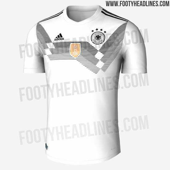 Camisas para brigar pela Copa  vazam novos uniformes de Alemanha e ... a48a9eed6f4e2
