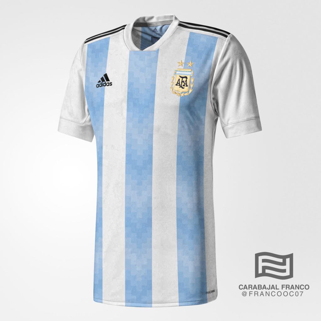 a9f69193f0ae8 Site vaza camisas da Argentina e Colômbia para a Copa do Mundo - UOL ...