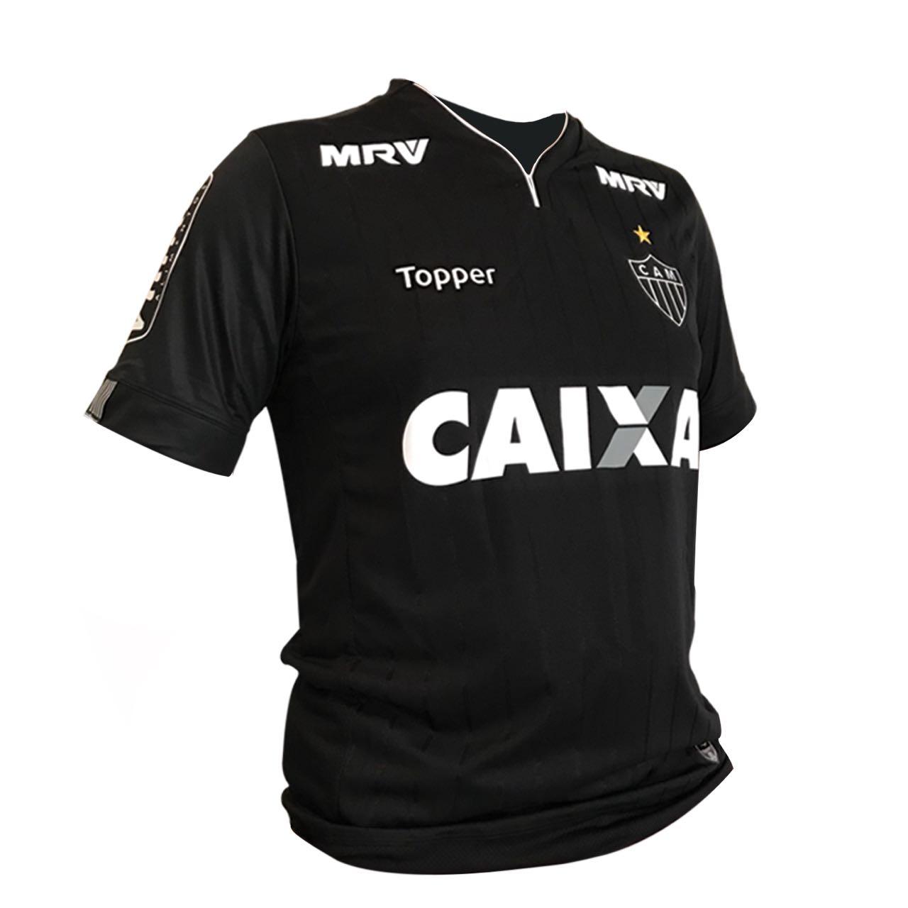 2dceb3c756 Atlético-MG lança terceira camisa toda preta - 20 11 2023 - UOL Esporte