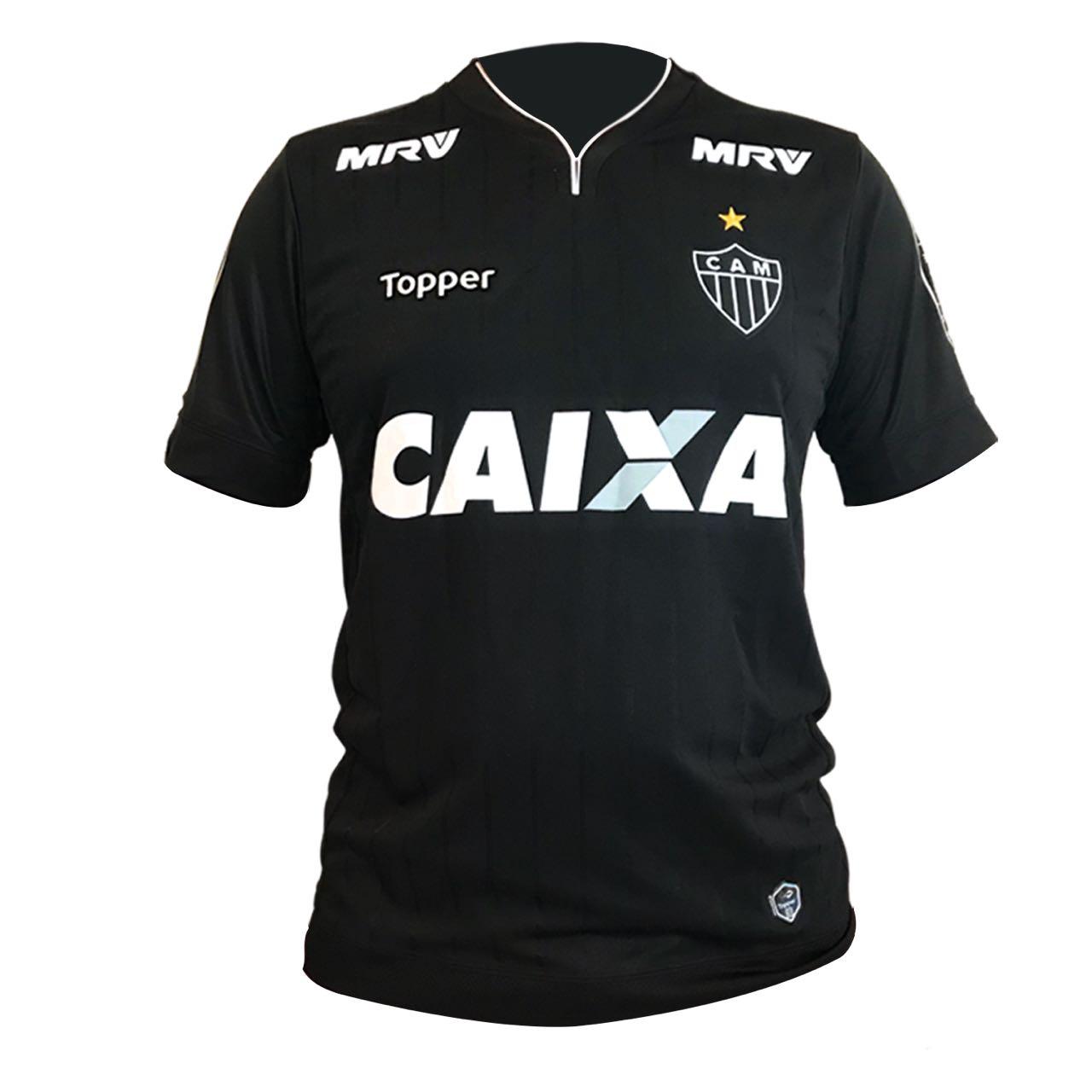 3afd4179a6 Atlético-MG lança terceira camisa toda preta - 20 11 2023 - UOL Esporte
