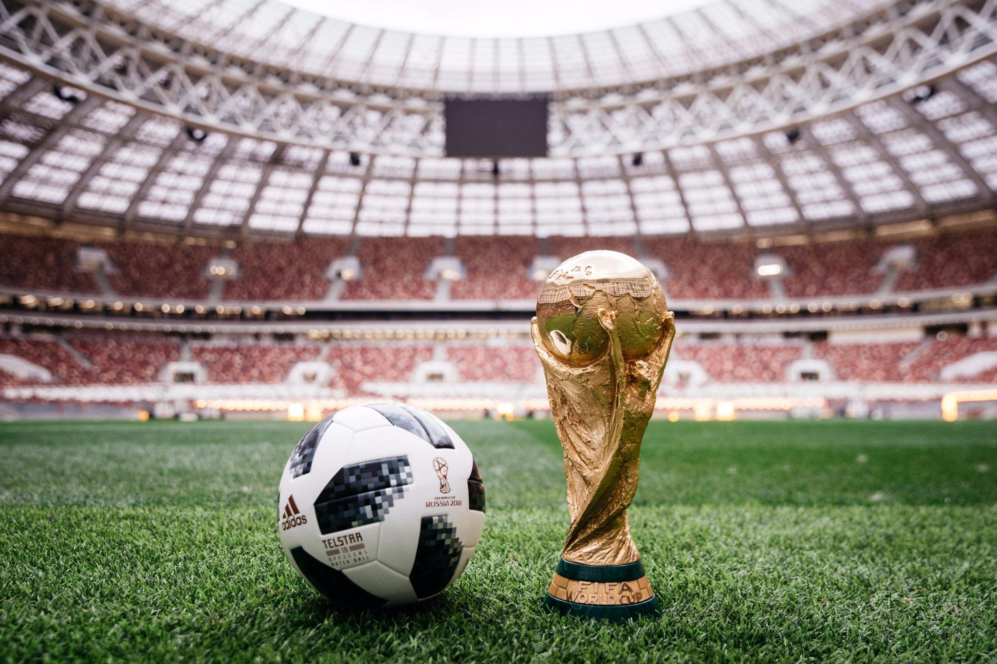 A Fifa apresentou nesta quinta-feira (9) a bola da Copa do Mundo de 2018 aee3ca40057f7