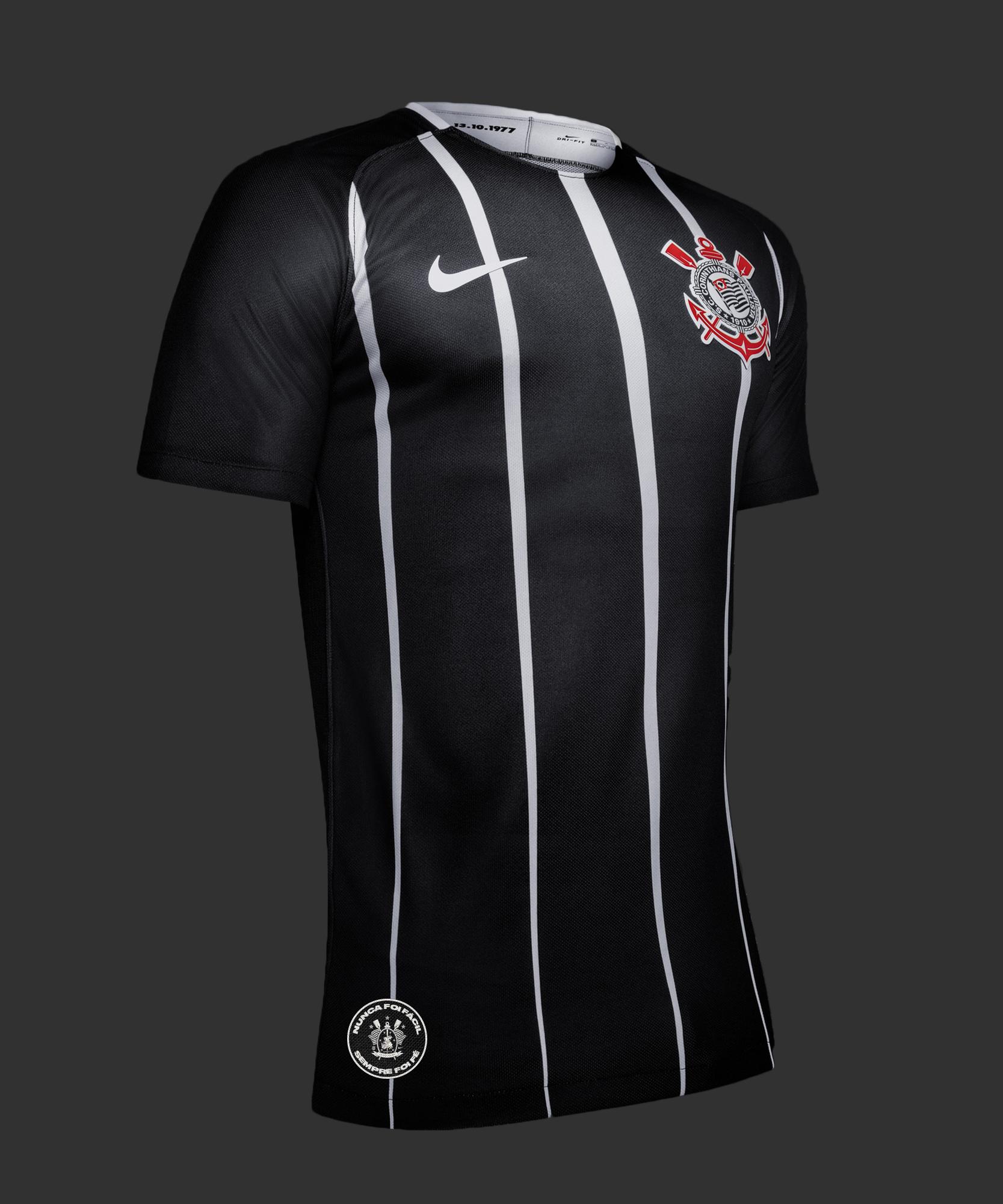 dde090d69fefb Corinthians terá frase que marcou campanha do título no uniforme ...