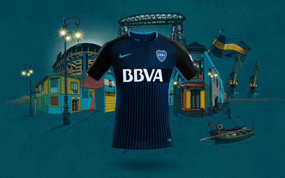 Novo terceiro uniforme do Boca Juniors deixa de lado cores tradicionais 8fa78baabc8e1
