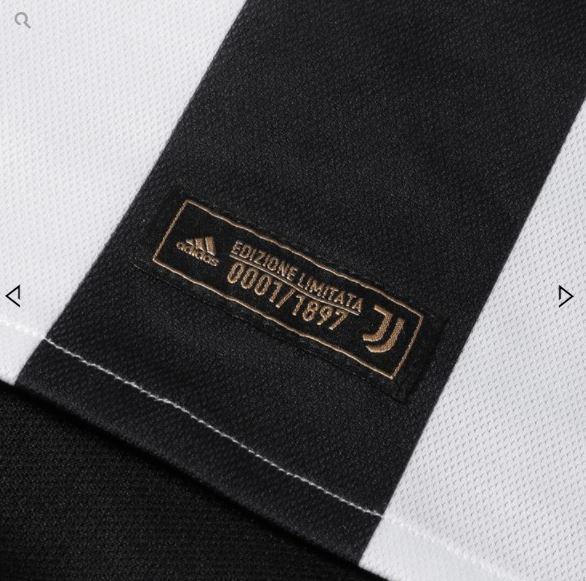 82221ca214d02 Juventus lança edição limitada de uniforme retrô para comemorar 120 ...