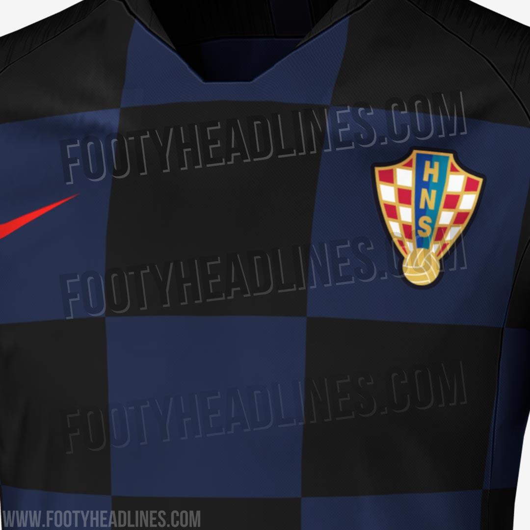 5eb4deaab O segundo uniforme da Croácia na Copa do Mundo da Rússia será completamente  diferente de outros já utilizados pelo país em sua história.