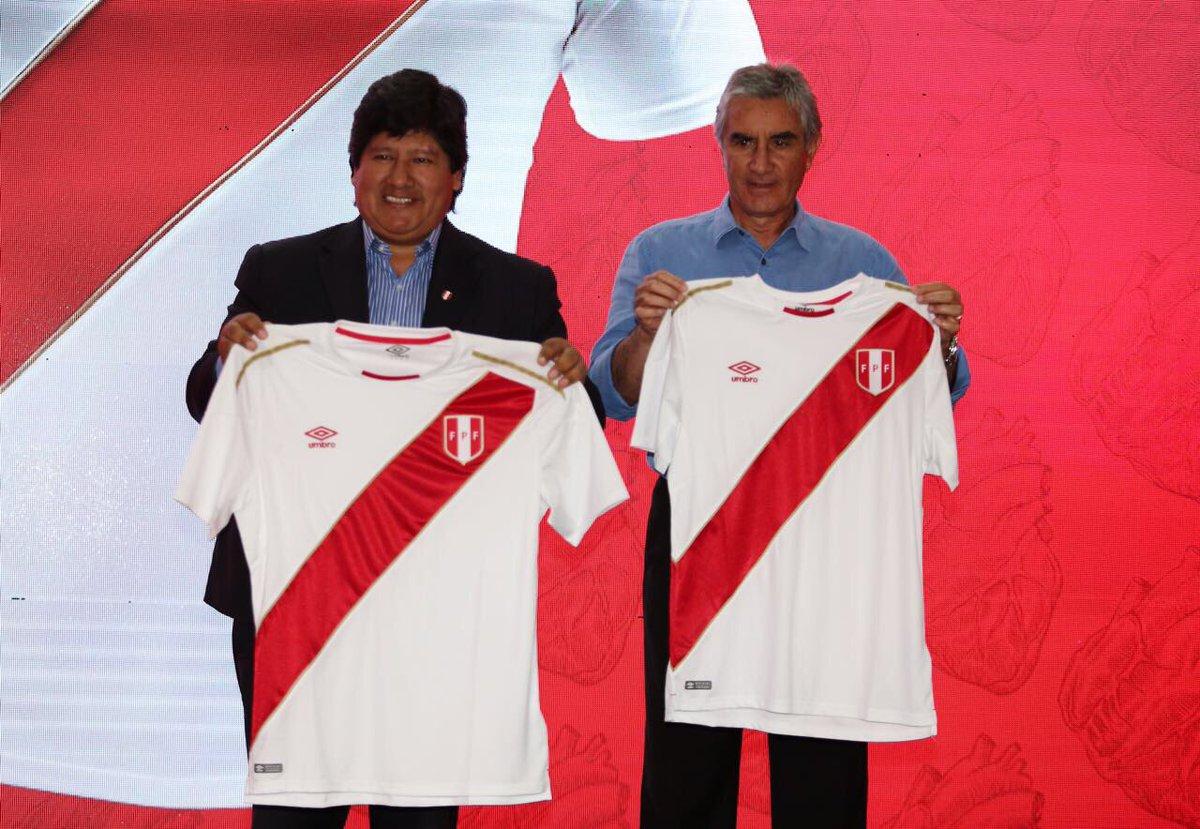 Peru mantém tradição em uniforme que será usado na Copa do Mundo ... 095b9282b36d0