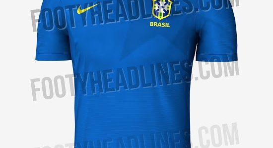 Vaza possível camisa reserva do Brasil na Copa do Mundo - 20 12 2020 - UOL  Esporte c1d156c88ca3e