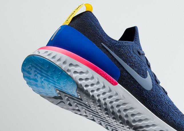 1b8be62f13 A Nike anunciou nesta terça-feira (23) seu principal lançamento na linha de  calçados de 2018. O Epic React Flyknit é um tênis de corrida desenhado para  ...