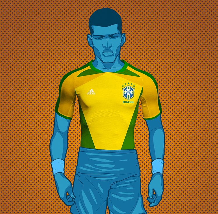 d016dbafeb Como poderia ser a camisa do Brasil na Copa do Mundo da Rússia  - 20 ...