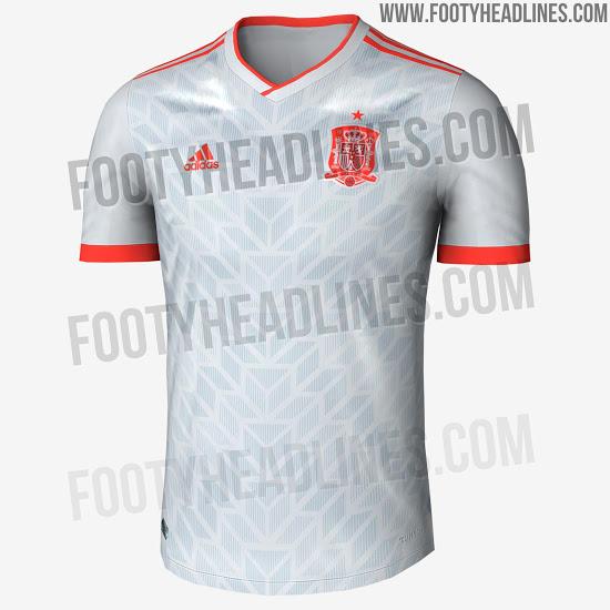 (Crédito  Footy Headlines Divulgação). Tanto japoneses quanto espanhóis  devem ter camisas ... be607efcbc454