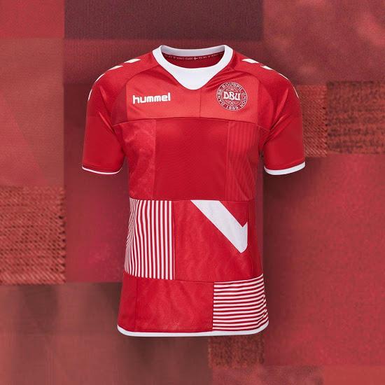 9d9014893d Seleção da Dinamarca lança uniforme  Frankstein  para amistoso - 20 ...