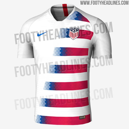 Divulgados uniformes da Croácia para Copa  vazam camisas de EUA e ... cd003b049170a