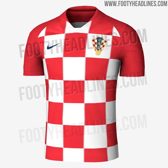 Site mostra imagens de camisas de cinco seleções da Copa do Mundo de 2018 f00c14262edf7