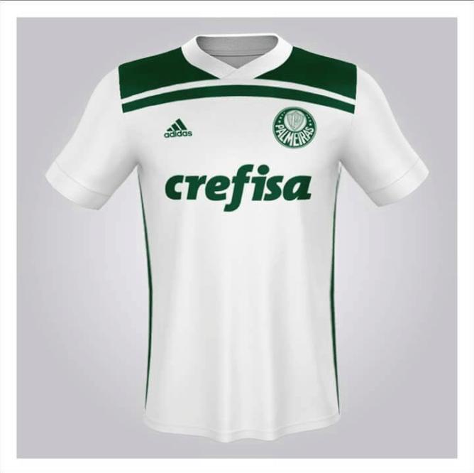 30deb1d077 Supostas últimas camisas do Palmeiras com Adidas vazam na web  veja ...