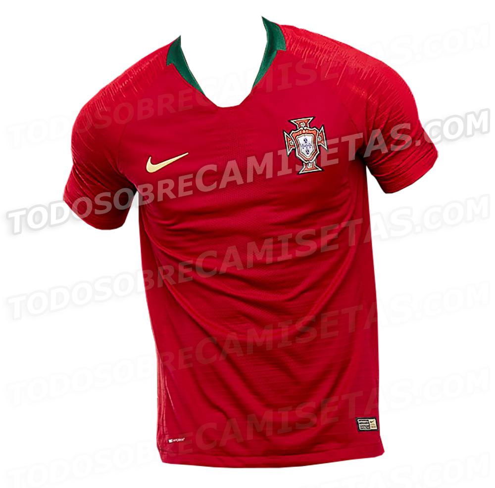 Portugal é a última seleção a ter seu uniforme da Copa do Mundo vazado. O  site