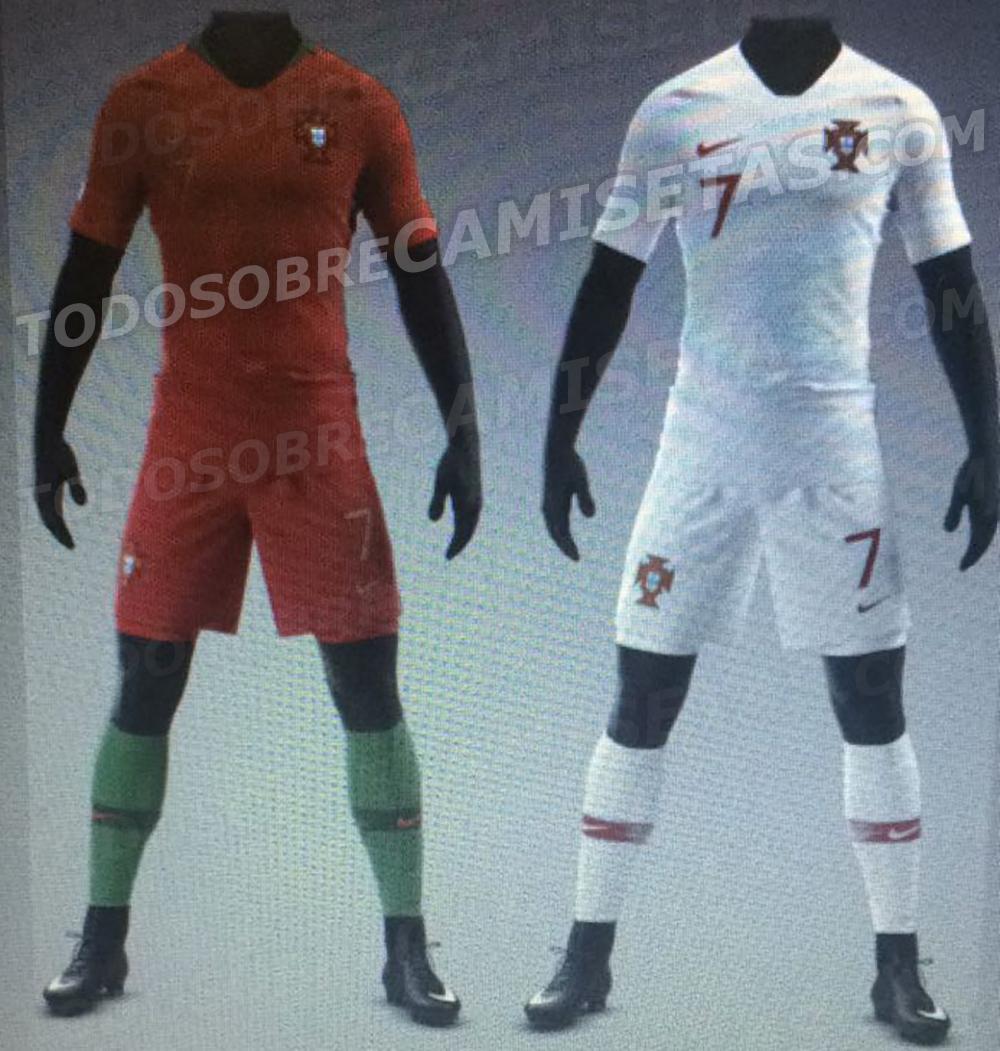 845b39773bb7a Site vaza camisa que Portugal usará na Copa da Rússia - UOL Esporte