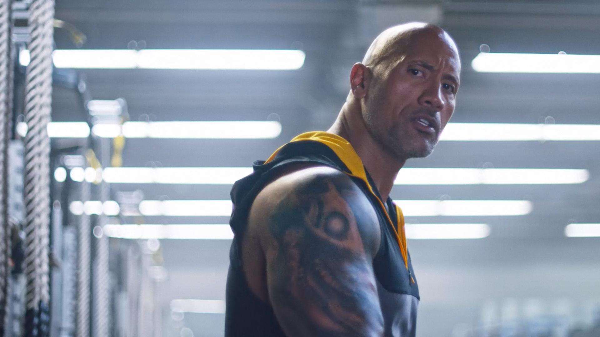 8034c24b6 The Rock na nova campanha da Under Armour (Divulgação/Under Armour)No  comercial veiculado pela Under Armour, o ator mostra o que cada esportista  que ...