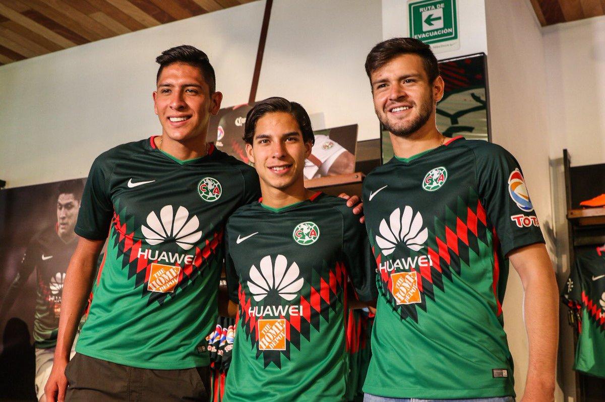 América do México lança uniforme com as cores da seleção do país ... d6174c8f59006