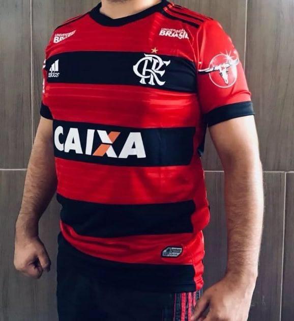 Vazam fotos de suposta nova camisa principal do Flamengo - 20 04 ... ae99e5cd96379