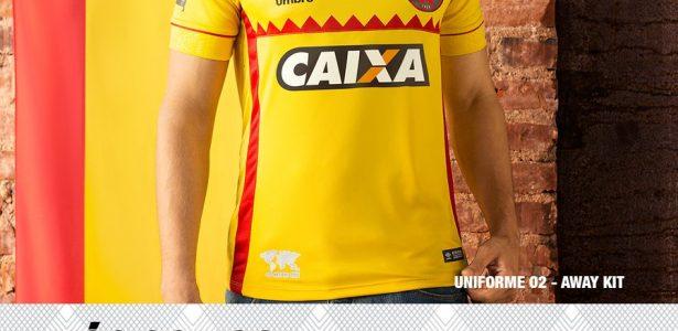 7354aeacdb Camisa causa ruído na mais longa parceria entre clube e fornecedor no país  - 20 04 2016 - UOL Esporte