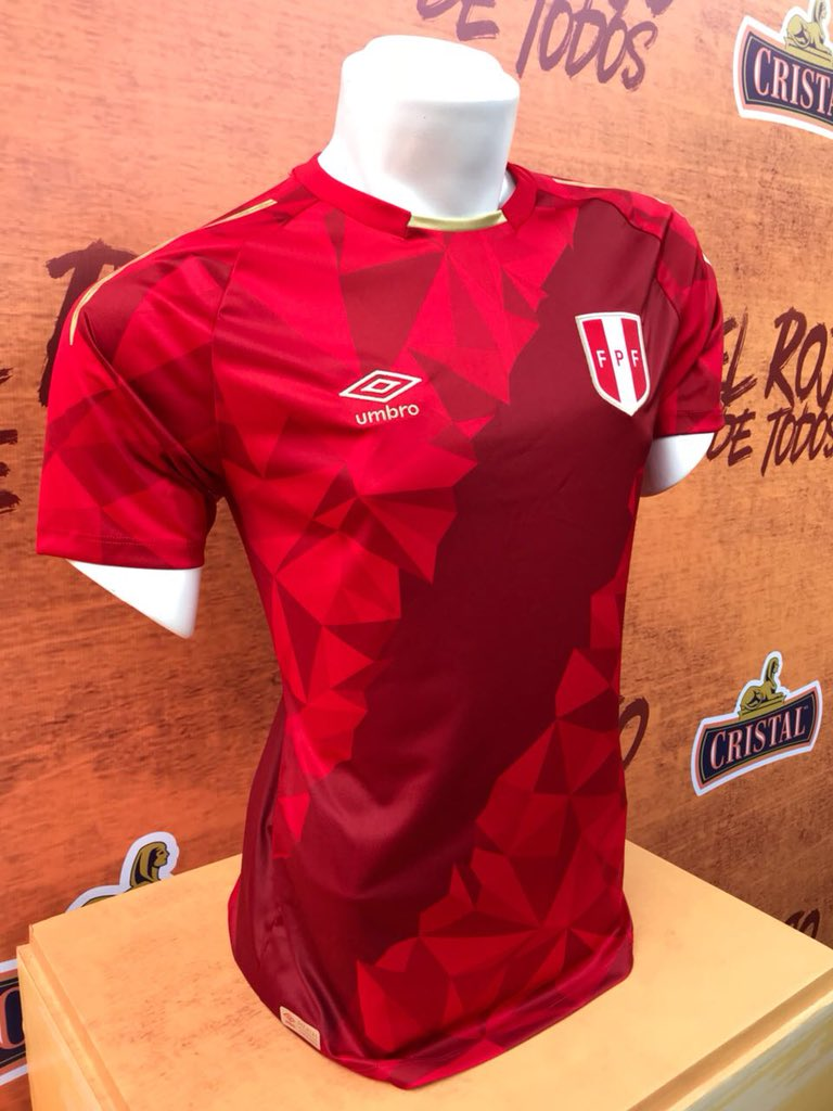 a6f631aa77 A Federação Peruana de Futebol apresentou uma novidade nesta quarta-feira.  De volta a uma Copa do Mundo após 36 anos de jejum