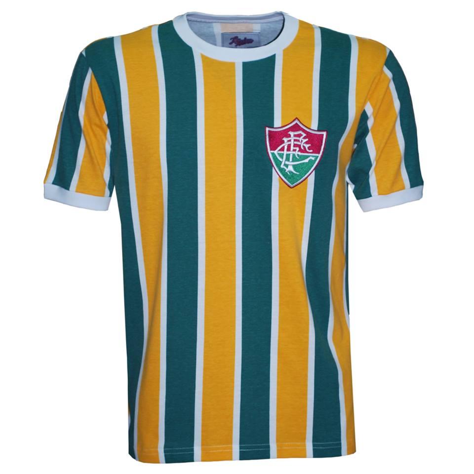 Flu homenageia seleção brasileira de 1916 em camisa retrô para a ... aca862966cf52