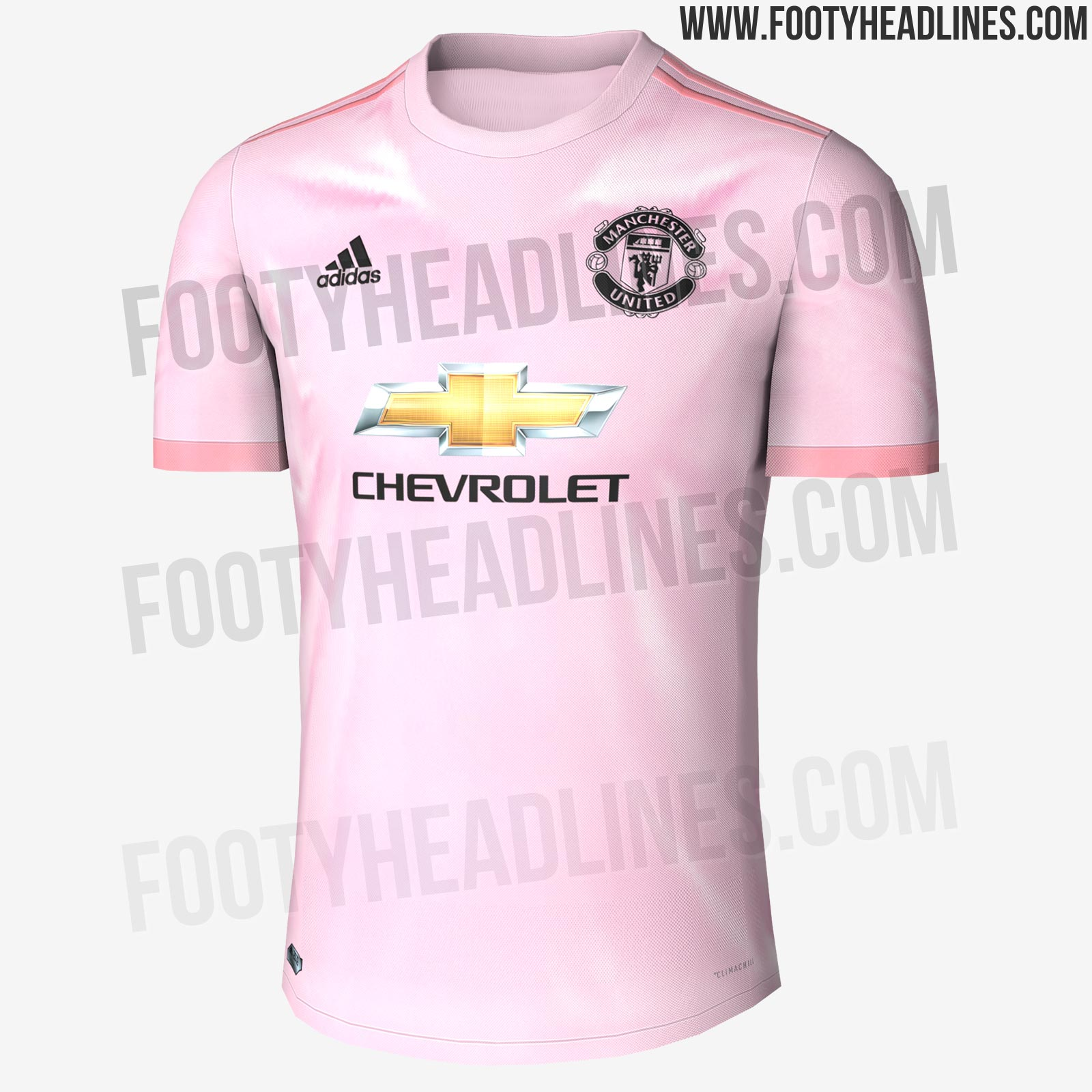 801be7edb5 Site vaza suposta camisa rosa do Manchester United para temporada 2017 2018