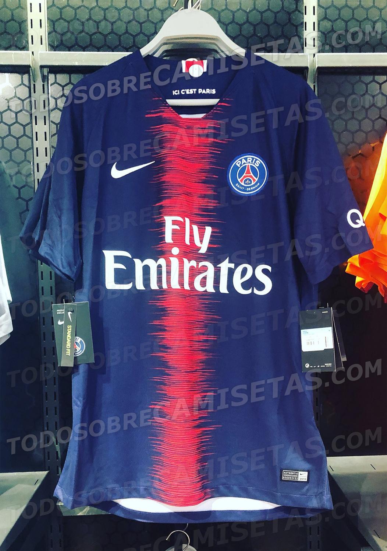 025e147c2a Site vaza supostas camisas de PSG e City com listras em zigue-zague ...