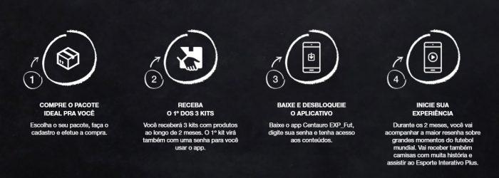 b4d37e7cf4 ... do EI+ e um time completos de botão customizado, além de uma camisa  oficial do Brasil e uma réplica da bola Telstar, que será usada na Copa da  Rússia.